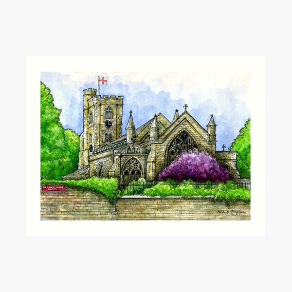All Saints C of E Church, Fulham, SW6 Art Print