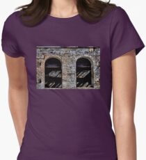 Empty Shell Women's Fitted T-Shirt