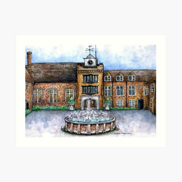 Fulham Palace Courtyard Art Print