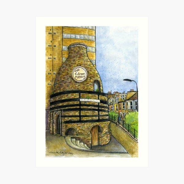 Fulham Pottery Art Print
