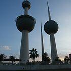 kuwait Towers by Joyce Knorz