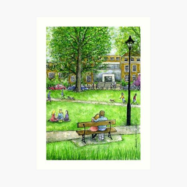 Parsons Green, Fulham SW6 Art Print