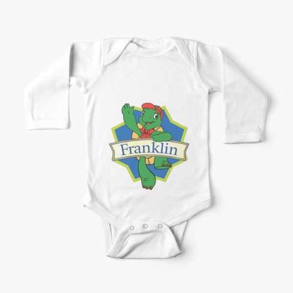 Franklin the turtle Long Sleeve Baby One-Piece
