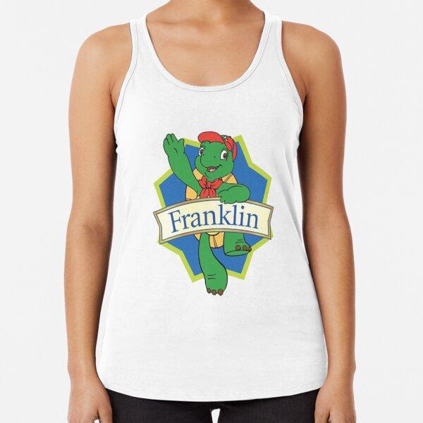 Franklin die Schildkröte Racerback Tank Top
