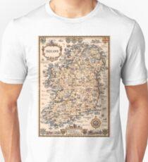 1927 vintage Ireland map Unisex T-Shirt