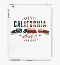 California Stars and Stripes iPad Case/Skin