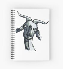La cabra Asunción Cuaderno de espiral