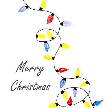 Christmas lights by EMSART95