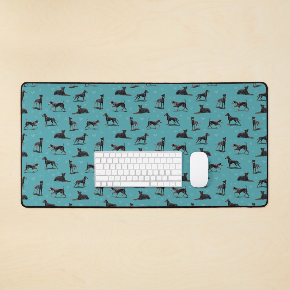 The Manchester Terrier Dog Mouse Pad