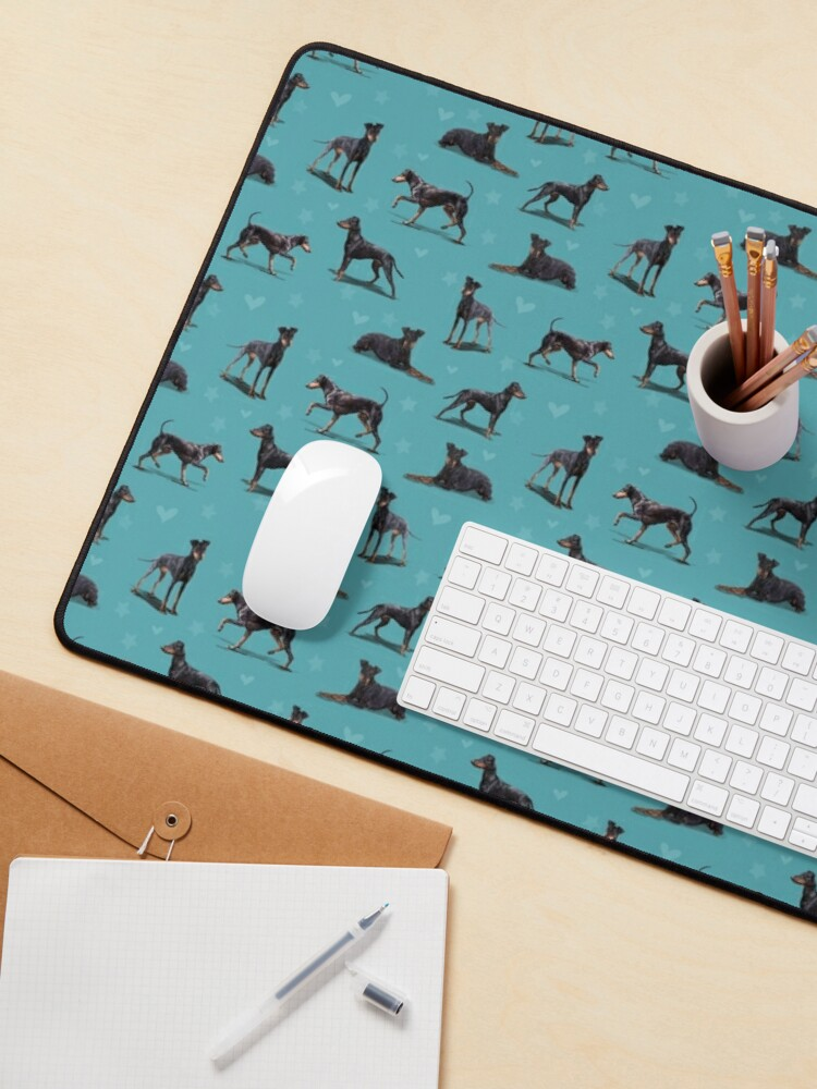Alternate view of The Manchester Terrier Dog Mouse Pad