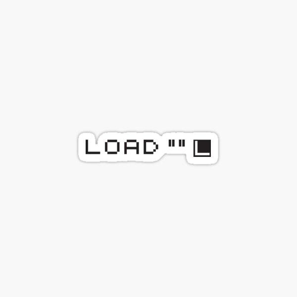 ZX Spectrum: Load Sticker