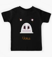 Robot (One from the Volts, Angry eyes) Filled face Kids Tee