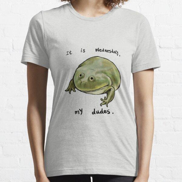 Wednesday Frog Art Essential T-Shirt