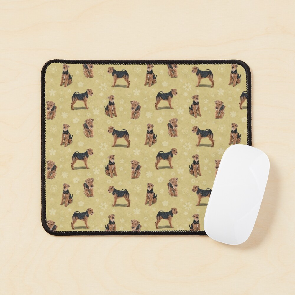 The Welsh Terrier Dog Mouse Pad
