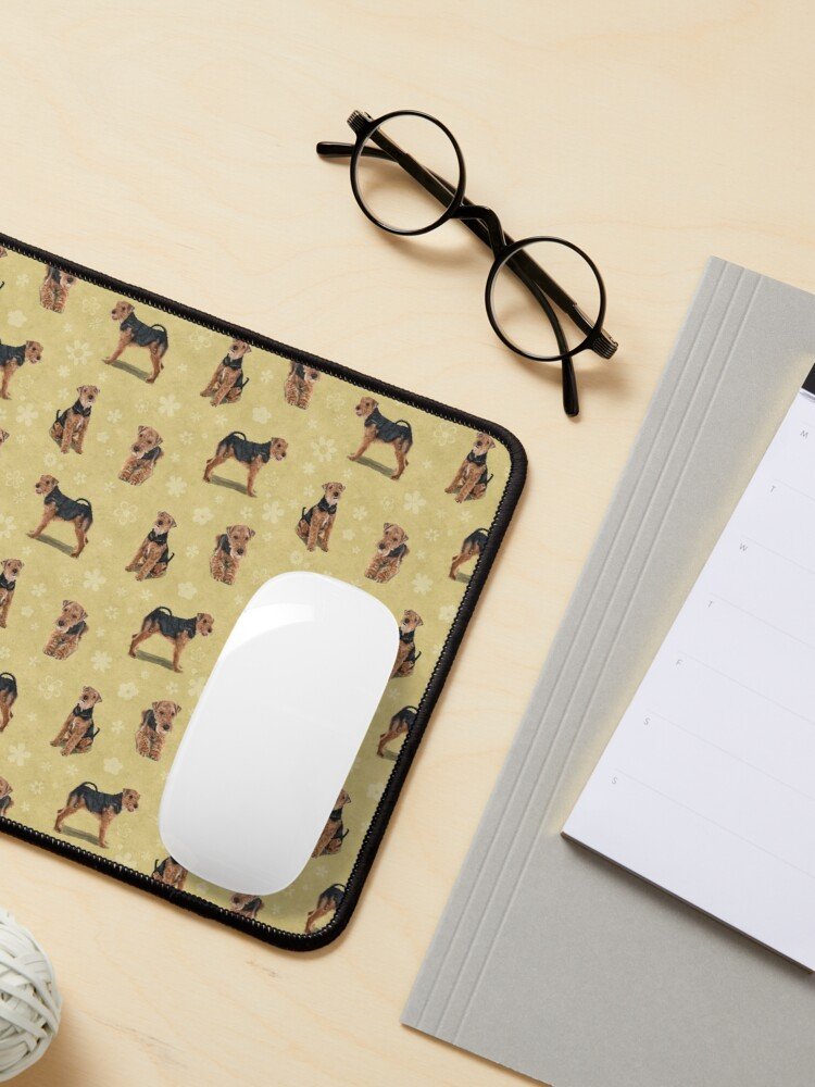Alternate view of The Welsh Terrier Dog Mouse Pad
