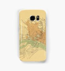Map of Richmond 1864 Samsung Galaxy Case/Skin