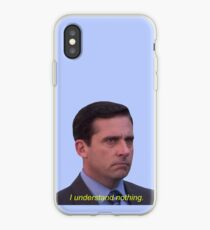 Vinilo o funda para iPhone No entiendo nada - Michael Scott