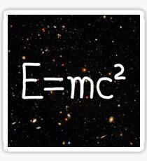 Einstein Relativitätstheorie Hubble Deep Field Galaxies Sticker