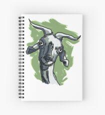La cabra Asunción con Fondo Cuaderno de espiral