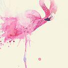 Flamingo by Annelie Solis