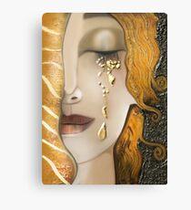 My Klimt Serie : Gold Canvas Print