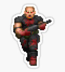 Doom Sergeant Sticker