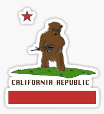 Republic Of California Sticker