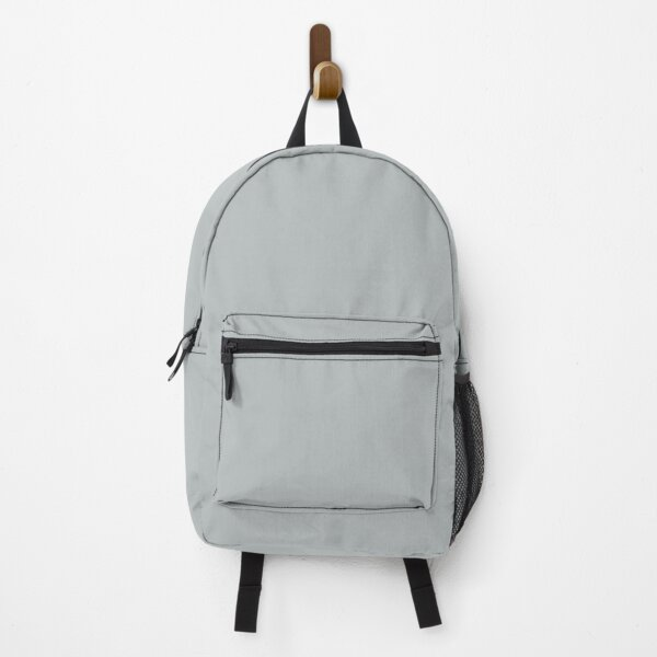 Light Gray / Grey Solid Color 2022 Trending Hue Samovar Silver SW 6233 Sherwin Williams Opus Collection - Colour Trends - Shade Backpack
