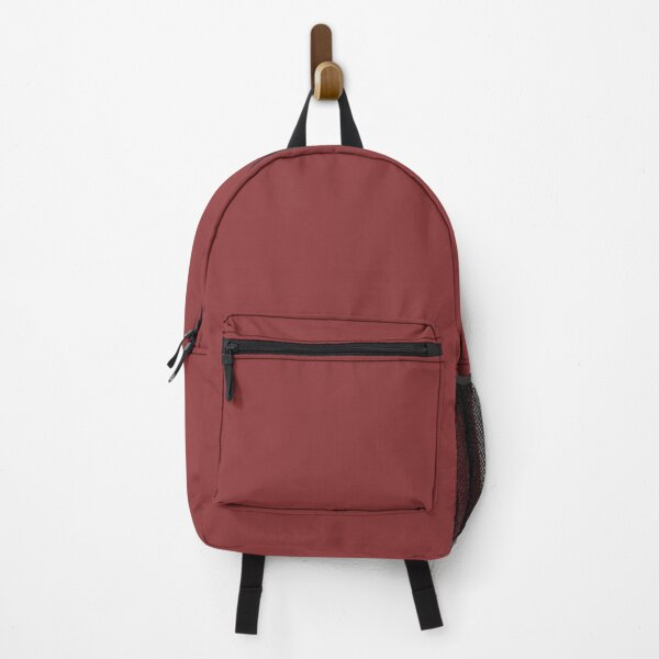 Mid-tone Red Solid Color 2022 Trending Hue Red Bay SW 6321 Sherwin Williams Opus Collection - Colour Trends - Shade Backpack