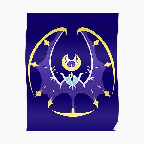 Mischievous Moon - Lunala  Poster