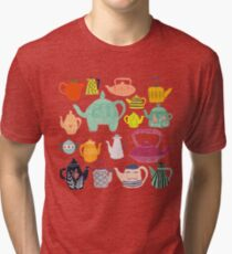 Have a Tea-riffic Day! Tri-blend T-Shirt
