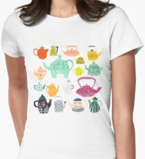 Have a Tea-riffic Day! Women's Fitted T-Shirt