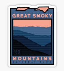 New Great Smoky Mountains Nationalpark-Ausrüstung! Sticker