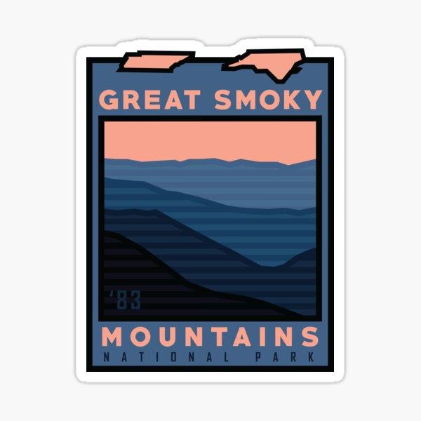 New Great Smoky Mountains Nat'l Park Gear! Sticker