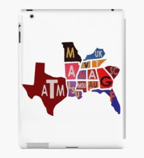 The SEC South Eastern Conference Teams iPad Case/Skin