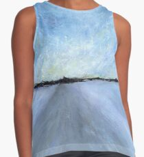 Snowstorm: Fading Winter Light Contrast Tank