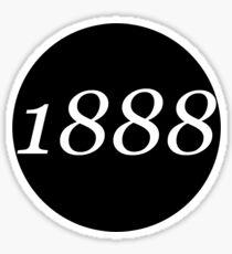 1888 Sticker