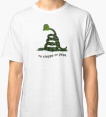 Keine Steppe auf Pepe Classic T-Shirt