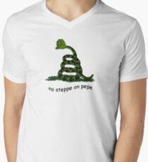 No Steppe on Pepe Men's V-Neck T-Shirt