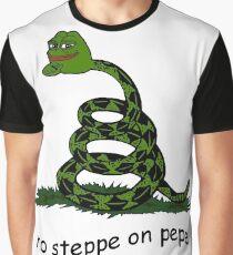 Keine Steppe auf Pepe Grafik T-Shirt