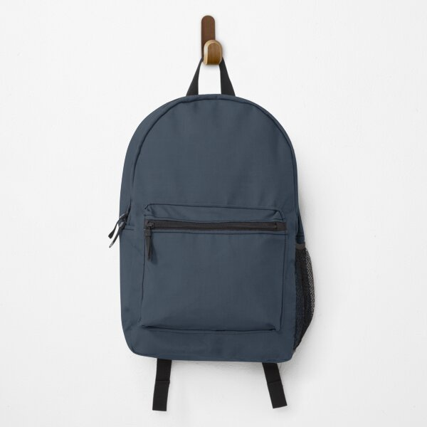 Dark Blue Solid Color 2022 Trending Hue Naval SW 6244 Sherwin Williams Opus Collection - Colour Trends - Shade Backpack