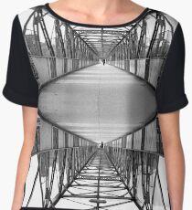 Iron bridge Chiffon Top