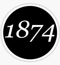 1874 Sticker