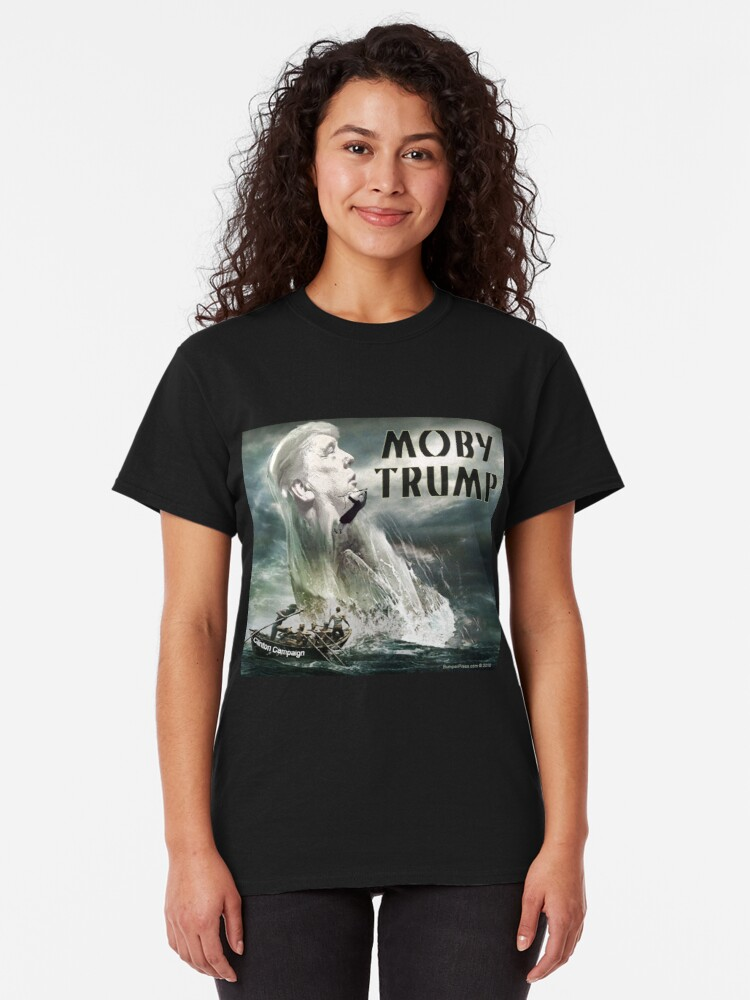 Alternate view of Moby Trump Classic T-Shirt