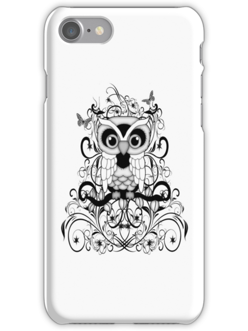 Fantasy Owl .. iPhone case by LoneAngel