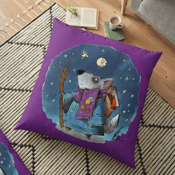 Cute RPG - The Mage Floor Pillow