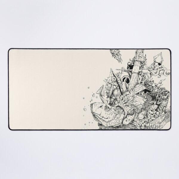 Dream turtle Desk Mat