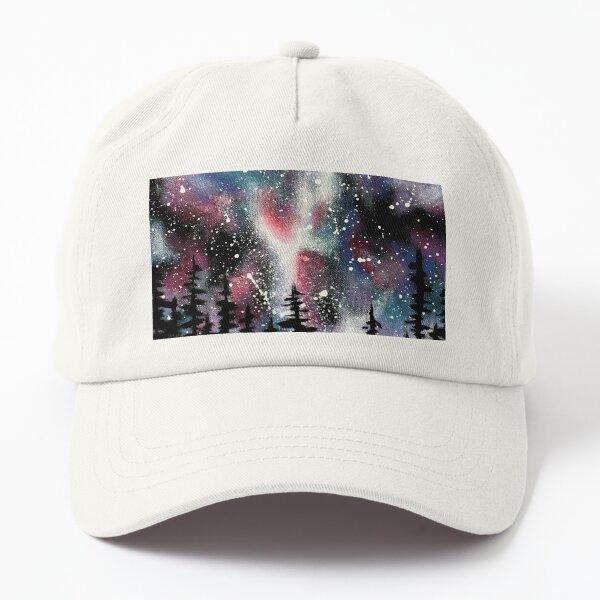 Winter Galaxy Sky Dad Hat