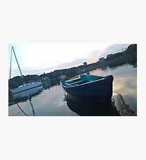 .Boats In The Arm. Photographic Print