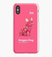 Dd - Dragon Dog // Half Dog, Half Dragon Fruit iPhone Case